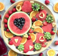 Beautiful Fruit Plate